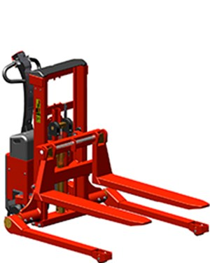 Stackers, Fully powered Logiflex Mini - straddle legs