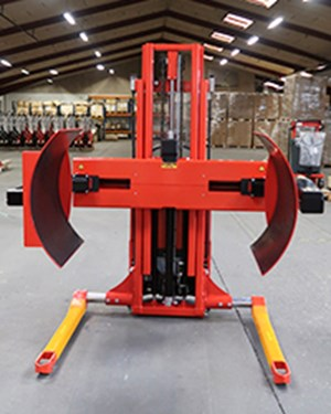 Ejemplos de productos personalizados, Multi drum turner for the handling of large coils